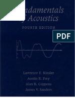Fundamentals of Acoustics 4th Ed - L. Kinsler