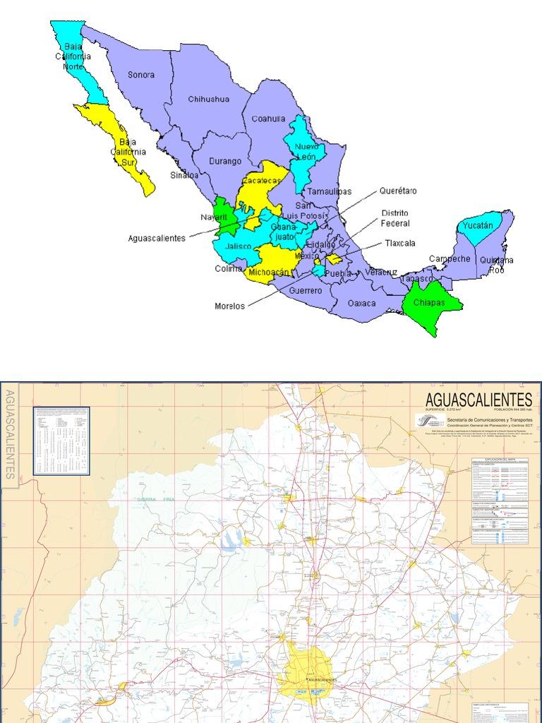 Mapas de Mexico