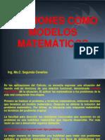 Funciones Modelo Matemático
