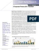 Transition and Default Study 2011