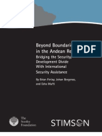 Beyond Boundaries in the Andean Region