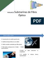 Redes Submarinas de Fibra Optica