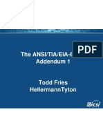 TIA-606-B - The New Updated Standard - Todd Fries