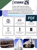 Resumo de Produtos Cury Construtora no RJ