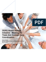 In DDRS Health Home Overview 7 2012