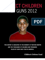 Protect Children Not Guns 2012