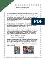 Nursery January Newsletter