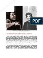 Los derroches de las damas de la cultura colombiana por Harold Alvarado Tenorio