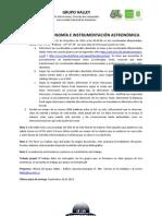 TALLER DE ASTRONOMÍA E INSTRUMENTACIÓN ASTRONÓMICA