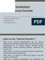 Carrera Docente - FIDE
