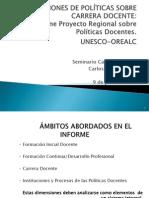 Orientaciones de políticas sobre carrera docente - UNESCO