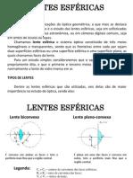 Figuras lentes esféricas