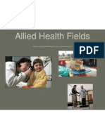 allied health fields physical therapy