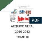 RÁDIO ARQUIVO GERAL