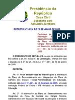 Decreto nº 5825
