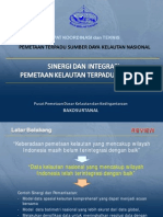 National Marine Database of Indonesia