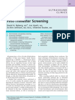 1 St Trimester Screen Pamphlet