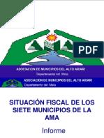 Situacion Fiscal de Los Siete Municipios de La Ama