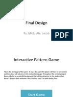 Technology Final Design