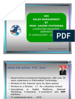 Sales Management Information System - MIS