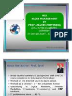Sales Management Information System - MIS