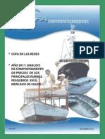 Publicación del boletín COFA Convivencia Pesquera correspondiente al mes de Diciembre del año 2011