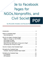 Guide to Facebook Pages for Nonprofits