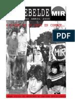 El Rebelde N° 269 - Abril 2005