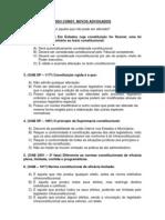 QUESTÕES PROCESSO CONST - novos advs - 1ªaula