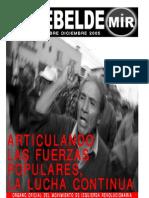 El Rebelde N° 272 - Nov-Dic 2005