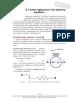 1D and 2D Plasticity
