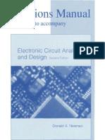 electronic circuit analysis donald neamansolution manual electronic circuit analysis and design neamen