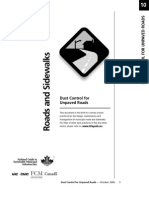Dust Control for Unpaved Roads