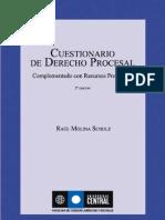 Cuestionario Derecho Procesal