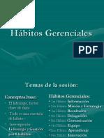 Habitos Directivos - Liderazgo