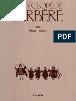 Encyclopédie Berbère Volume 19