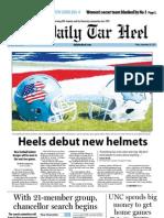 The Daily Tar Heel for September 28, 2012