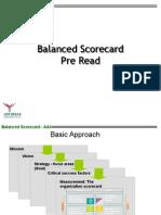 Balanced Scorecard Pre Read AAI