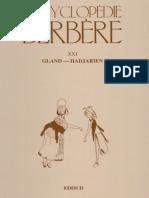 Encyclopédie Berbère Volume 21
