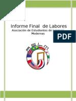 Informe de LaboresAELM 2011-2012