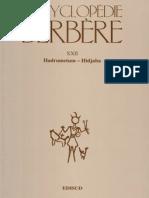 Encyclopédie Berbère Volume 22