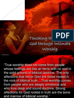 Touching the Heart of God Through Intimate Worship