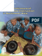 Quality Indicators of Multigrade Instruction in Southeast Asia
