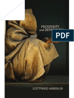 Gottfried Haberler, Prosperity and Depression