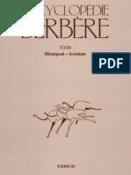 Encyclopédie Berbère Volume 23