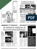 Versión impresa del periódico El mexiquense 28 septiembre 2012