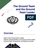 Ground Team Leader  Roles