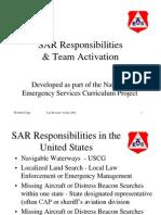 Ground Team Responsibilities