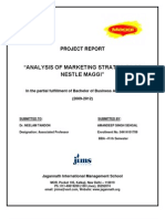 Project Report of Maggi (1)