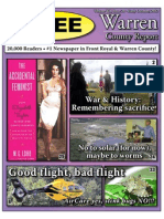 The Early October, 2012 edition of Warren County Report